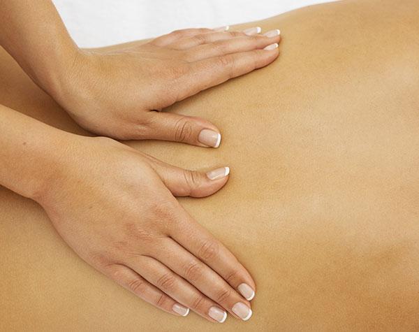 massage sensuel du dos Gironde